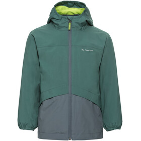 VAUDE Escape Jacket Children grey/teal